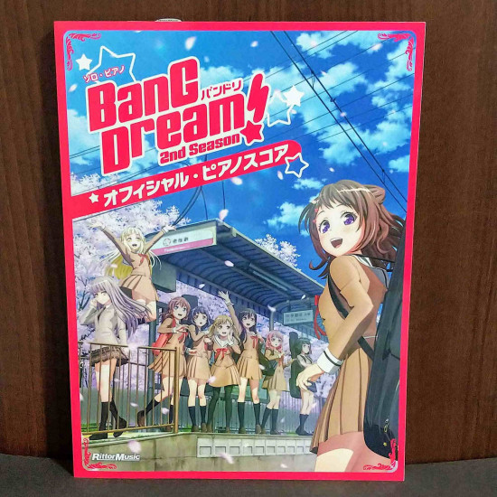 Bang Dream BANDORI 2nd season Official Piano Score