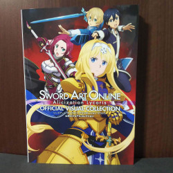 Sword Art Online Alicization Lycoris Official Visual Collection