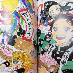 Demon Slayer  Kimetsu no Yaiba Illustrations