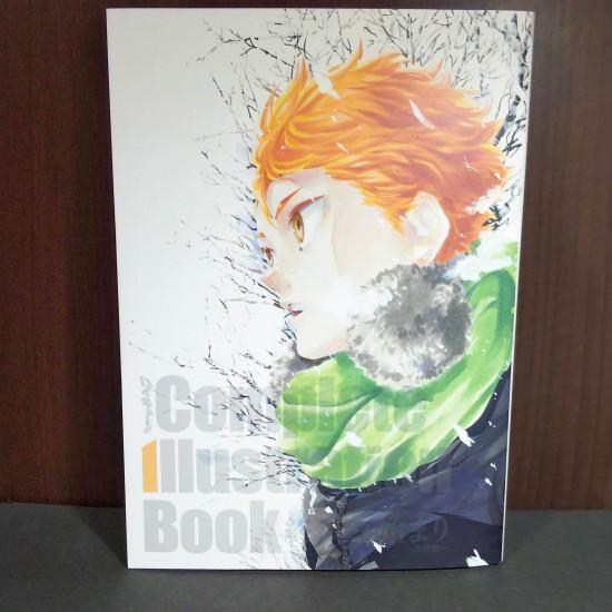 Haikyu Complete Illustration book