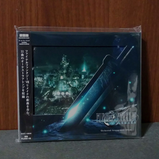 FINAL FANTASY VII 7 REMAKE Orchestral Arrangement Album