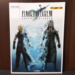Final Fantasy VII Advent Children Piano Solo Book