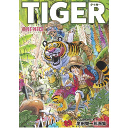 Eiichiro Oda - One Piece Color Walk 9 - TIGER