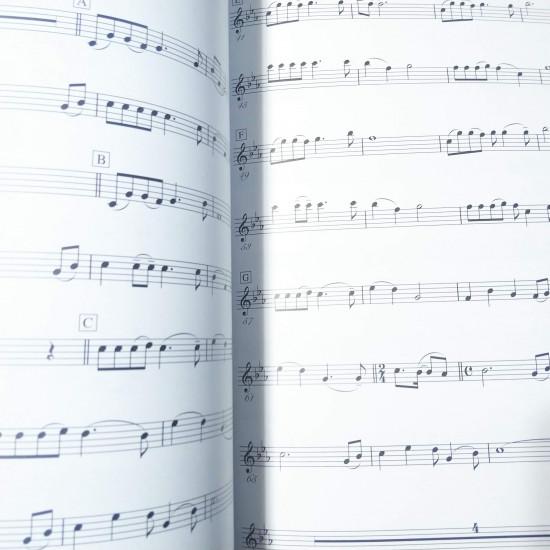 Studio Ghibli Selection - Violin Solo and Piano Music Score Book