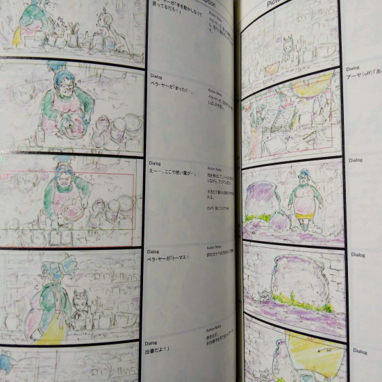 Earwig and the Witch - Conte Storyboard Art Book