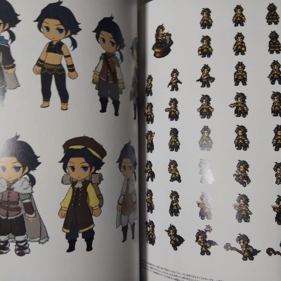 THE ART OF OCTOPATH 2016-2020