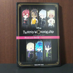 Twisted Wonderland postcard book - Deformation  -