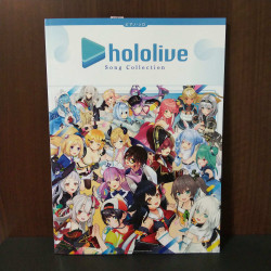 Hololive Song Collection - Piano Score Book