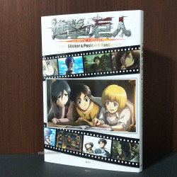 Attack on Titan  Sticker Sheets and Post cards book