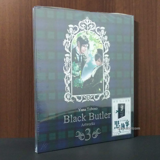 Toboso Yana - Black Butler Kuroshitsuji Artworks 3