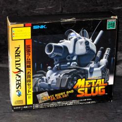 Metal Slug - Sega Saturn Japan - Game and Ram Cartridge