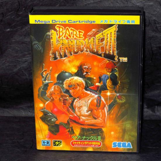 Bare Knuckle III - Mega Drive Japan