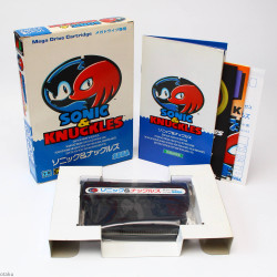 Sonic And Knuckles - Mega Drive Japan