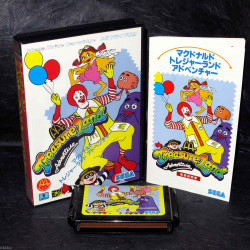 Mcdonald's Treasure Land Adventure - Mega Drive Japan