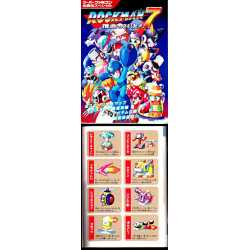 Rockman X7 Game Guide And Art Book Snes