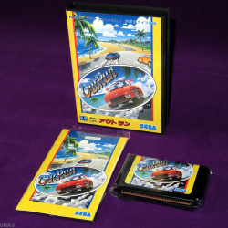 Outrun - Mega Drive Japan