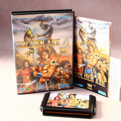 Golden Axe III - Mega Drive Japan