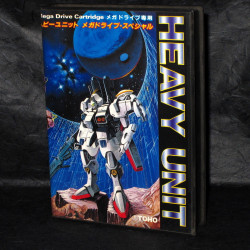 Heavy Unit - Mega Drive Japan