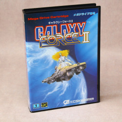 Galaxy Force II - Sega Mega Drive Japan