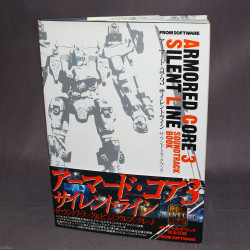 Armored Core 3 Silent Line - Soundtrack Book