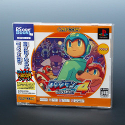 Rockman 4 - Ps one Books Edition - PS1 Japan