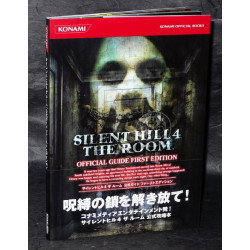 Silent Hill 4 The Room - Ps2 Guide Book