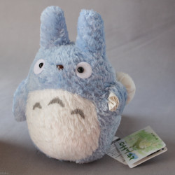Totoro - Plush Blue Fluffy Version