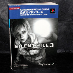 Silent Hill 3 Konami Official Game Guide Book