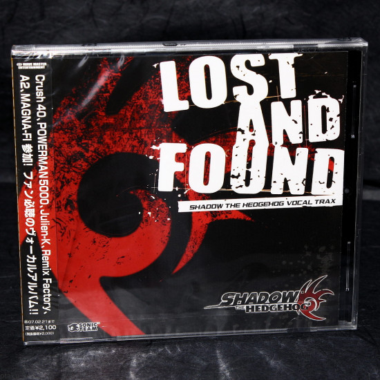 Shadow The Hedgehog Lost And Found Vocal Tracks