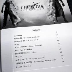 Final Fantasy VII Advent Children Piano Solo Book