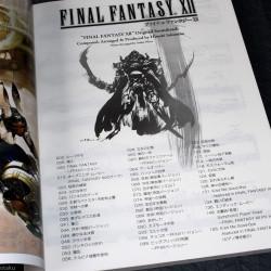 Final Fantasy XII Original Soundtrack Piano Score