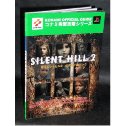 Silent Hill 2 Konami Ps2 Game Guide Book