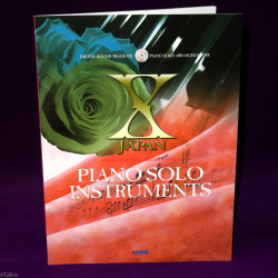 X Japan Piano Solo Instruments Music Score And CD