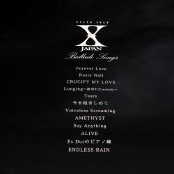 X Japan Piano Solo Ballade Songs Music Score