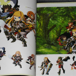 Etrian Odyssey - Official Setting Material Collection