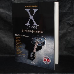 X Japan Guitar Solo Instruments Music Score And CD
