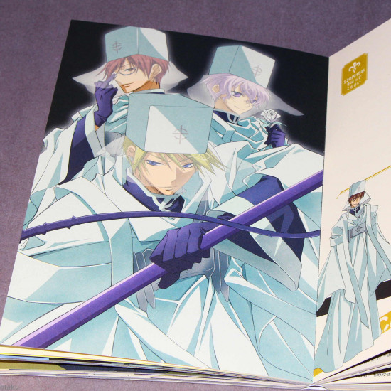 07-ghost Seal And Postcard Book