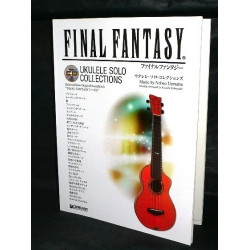 Final Fantasy Ukulele Solo Collections Score Book CD