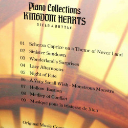 Kingdom Hearts - Field and Battle - Piano Collections