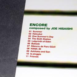 Joe Hisaishi Encore Piano Score