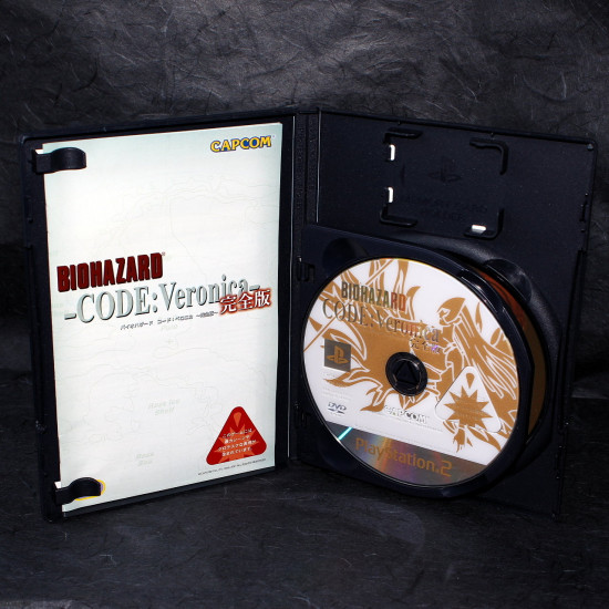 Biohazard Code Veronica - Resident Evil - PS2 Japan