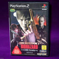 Gun Survivor 2 Biohazard Code Veronica Resident Evil - PS2 Japan