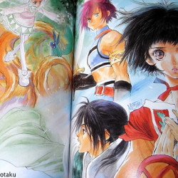 Tales Of Destiny 1 2 And Eternia Art Book