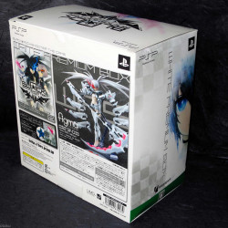 Black Star Rock Shooter: PSP Game White Premium Box