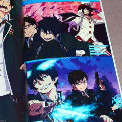 Ao no Exorcist COLOR ARCHIVE - VISUAL GUIDEBOOK
