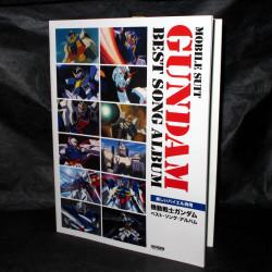 Gundam Best Song Album Piano Score Book