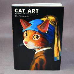 Shu Yamamoto - Cat Art
