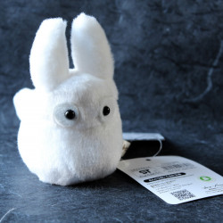 Totoro White Soft Toy Plush
