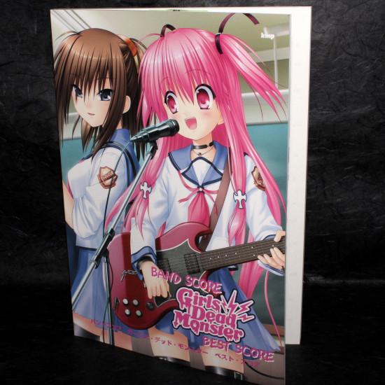 Angel Beats Girls Dead Monster - Official Band Score Book Vol.1