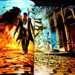 DmC - Devil May Cry - Visual Art - Capcom Game Art Book